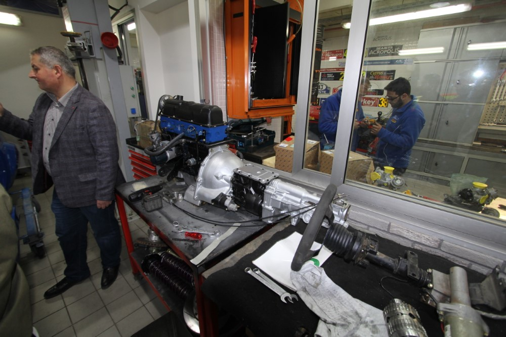 Ford Motor Sport Garaj gezisi galerisi resim 33