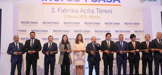 İnci Akü 3. fabrika açılış töreni Manisa