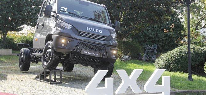 İveco'nun 4x4 aracı