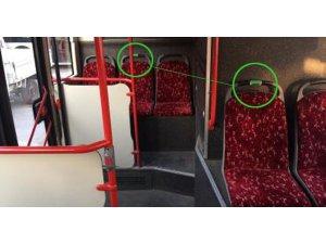 """İzmir'de toplu ulaşımda """"yeşil koltuk"""" uygulaması başlatıldı"""