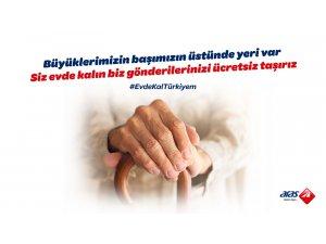 Aras Kargo'dan #EvdeKalTürkiyem kampanyası