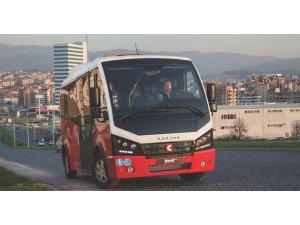 Karsan, Silopi belediyesine Jest minibüsleri teslim etti
