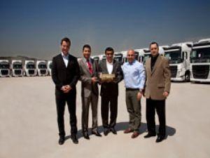 Türkiye'deki ilk Volvo FH teslimatı Mastur'a yapıldı