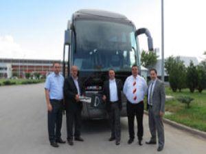 Çalıkıran'a özel MAN Lions Coach otobüs teslim edildi