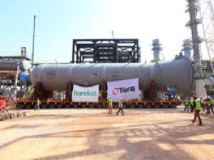 918 Tonluk Dev Reaktörün Tüpraş'a hareketi gerçekleşti