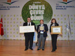 Otokar'a Türkiye'nin En Temiz Sanayi Tesisi ödülü