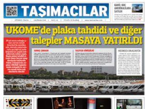 Taşımacılar Otobüs Gazetesi Yeni Sayı