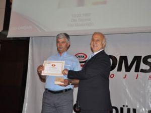 OMSAN Lojistik Bu Yılda Başarısını Şoförleriyle Paylaştı