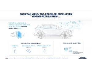 Ford'dan pandemi sürecinde yeni kabin filtresi