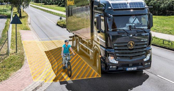 Continental'den trafikteki olası tehlikeleri en aza indiren sistem