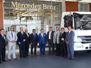 Pripa Lojistik Mercedes'ten toplamda 70 adet araç aldı