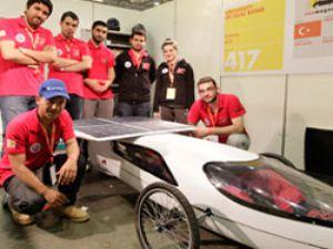 Shell Eco-marathon'da yarışan EcoMagnesia takımı Türkiye'yi temsil edecek