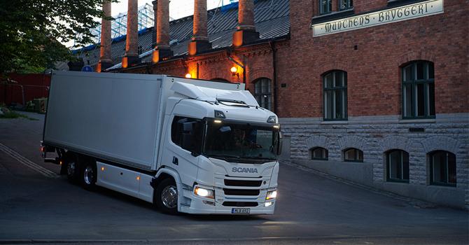 Elektrikli kamyon serisi satışta