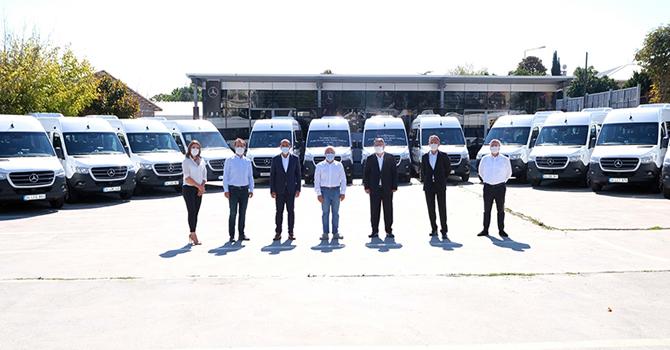 Öz Uludağ Turizm'e 15 adet Sprinter