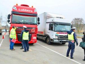 Avrupa'da trafik denetimi yapılacak dikkat