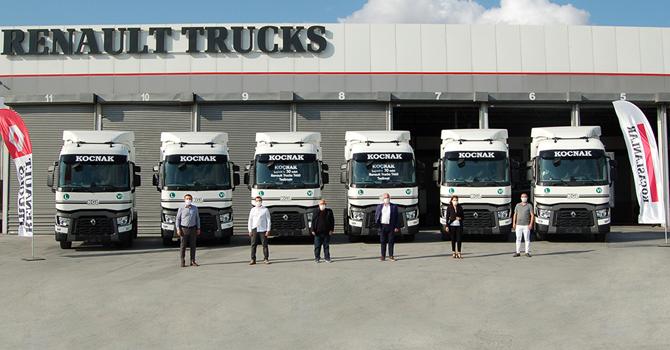 Renault Trucks'dan 30 adetlik teslimat