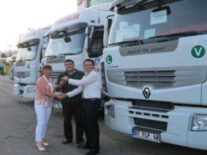 Nakliyeciler, Renault Trucksları tercih ediyor