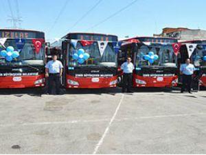 İzmir Büyükşehir Belediyesi, 80 Otokar Otobüsü ile filosunu zenginleştirdi