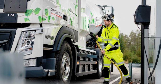Volvo'dan elektrikli kamyon atağı