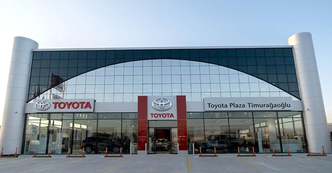 Toyota'nın en yeni bayisi Mardin'de açıldı