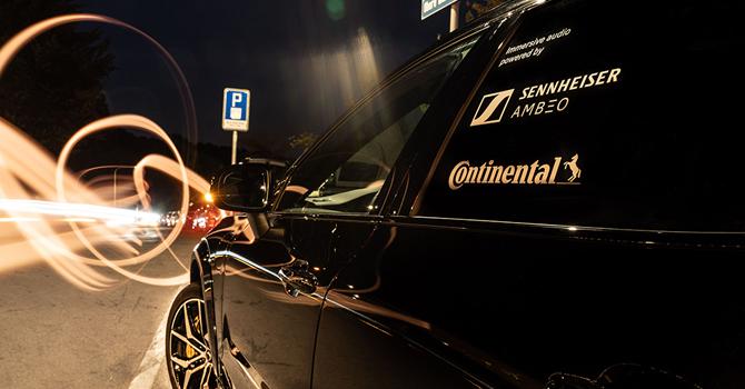 Continental ve Sennheiser'dan iş birliği