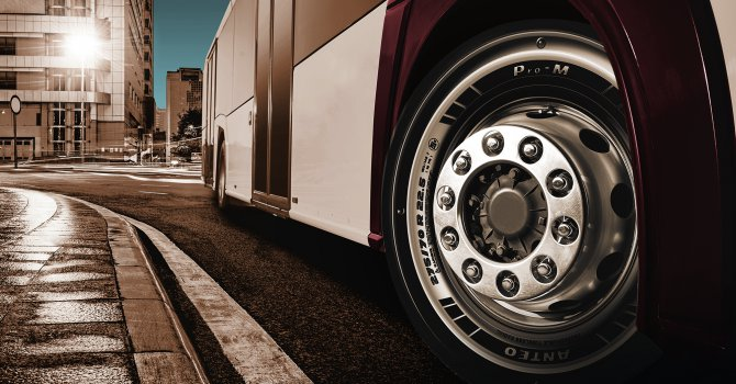 Prometeon'dan otobüs yeni lastiği
