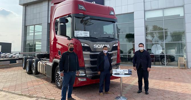 Scania'dan yeni teslimat