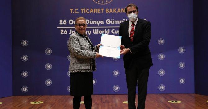 UTİKAD üyesi, Dünya Gümrük Örgütü Liyakat sertifikası aldı