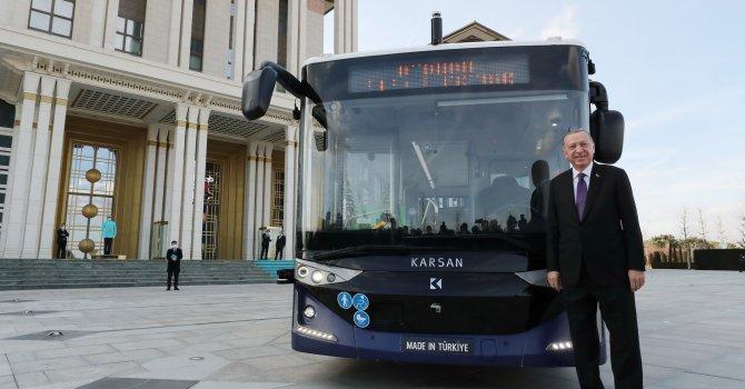 Karsan'ın otonom otobüsü Külliye'de test edildi