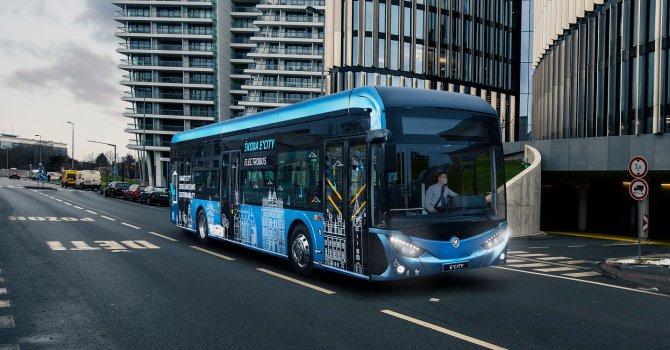 10 milyon dolarlık elektrikli otobüs ihraç etti