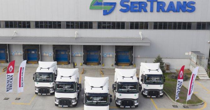 Sertrans Lojistik Filosunu güçlendiriyor