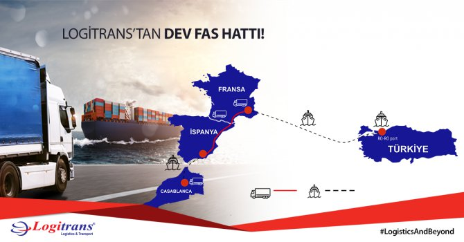 Logitrans Lojistik Fas hattını devreye aldı
