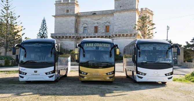 Malta'ya üç adet Visigo teslimatı gerçekleştirdi