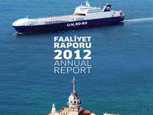 U.N. Ro-Ro 2012 Faaliyet Raporu'na Uluslararası Ödül