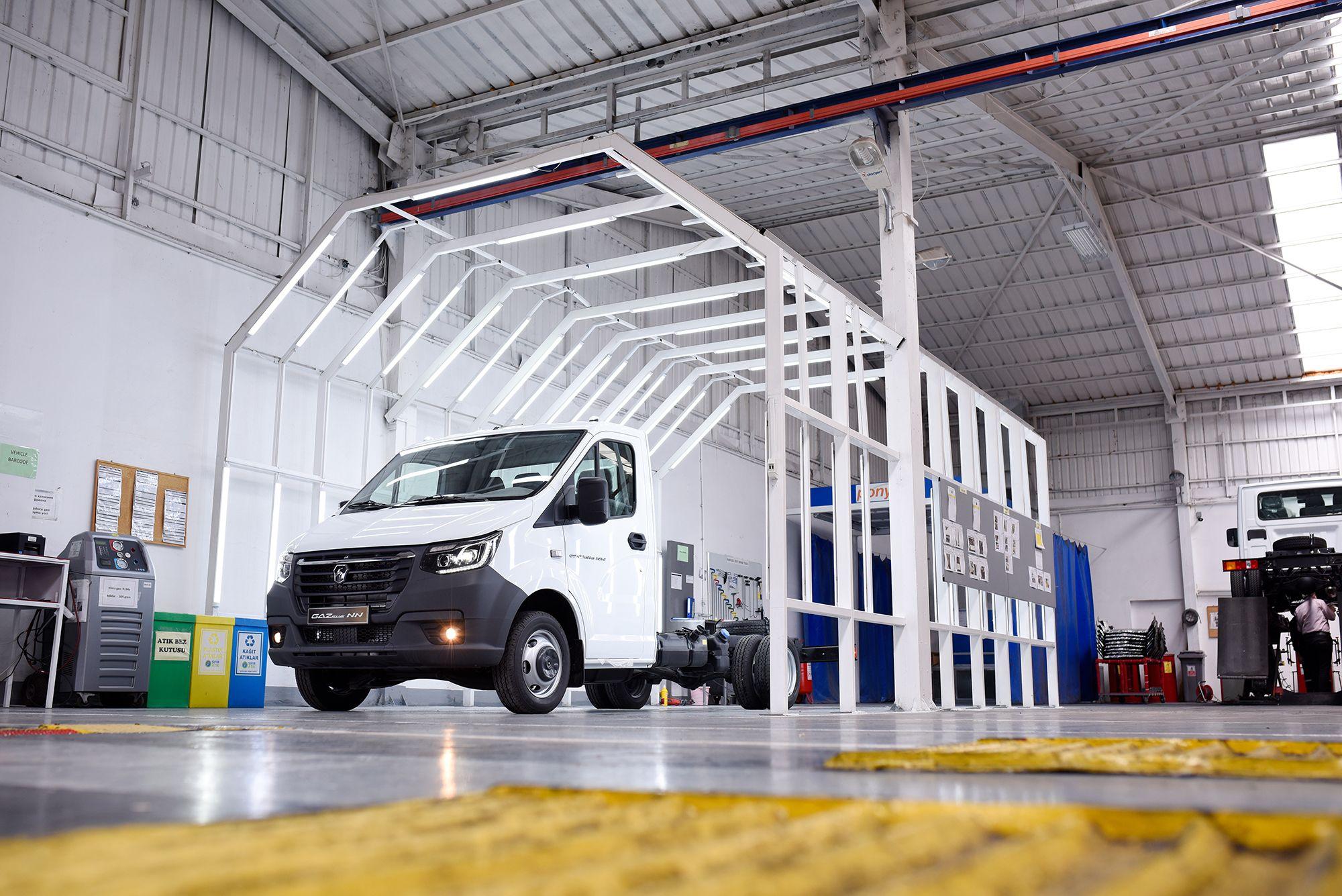 GAZelle NN hafif ticari araç üretimine ve satışına başlandı