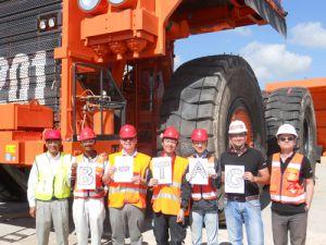 Bridgestone Türkiye'nin En Büyük Lastiğini Tanıttı
