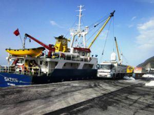 Hopa Limanında İşlem Hacmi Artıyor