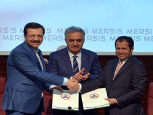 Gümrük Bakanlığı ile TOBB arasında MERSİS işbirliği gerçekleştirildi