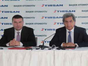 Başer Otomotiv ve TIRSAN Ankara'da bayilik için imza attı