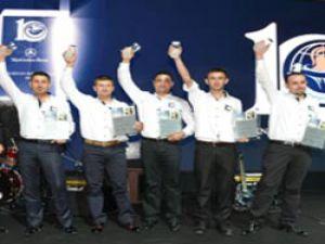 Mercedes-Benz Türk Teknisyen Olimpiyatları'nda Ödüller Sahiplerini Buldu