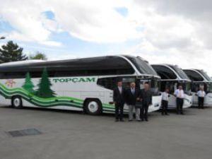 Topçam Turizm, Filosuna Kattığı NEOPLAN Cityliner ile Tokat'a Prestij Sağlayacak
