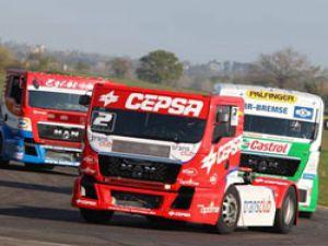 MAN 9 aracıyla FIA 2012 Kamyon Yarışları'nda