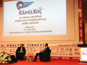 Yönetim Zirvesi Bursa'da düzenlendi