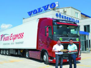 Trans Express Yine Volvo'yu Tercih Etti