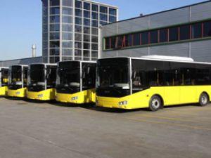 Trabzon Belediyesi 5 Yeni Otobüs aldı