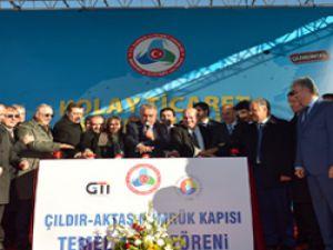 Ardahan'da Aktaş Sınır Kapısı'nın temelleri atıldı