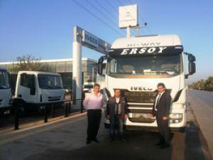 Ersoy taşımaya 2 adet Iveco Stralis HI-WAY AS460 teslim edildi