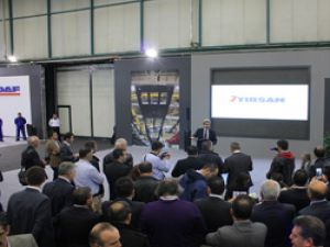 Comwex Fuarı'na TIRSAN 4 aracının lansmanını gerçekleştirdi