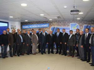 TÜVTÜRK yolcu taşıma sektörü üyeleriyle bilgi paylaşımında bulundu