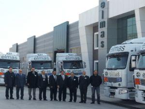 Elmas Lojistik'e 10 adet Renault Trucks Çekici teslim edildi